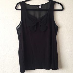 H&M Divided Bow tank top